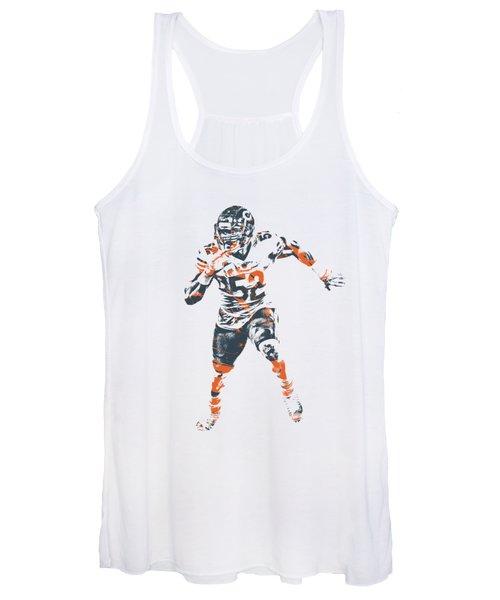 Khalil Mack Chicago Bears Apparel T Shirt Pixel Art 1 Women's Tank Top