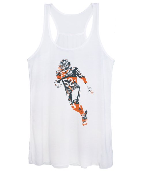 Khalil Mack Chicago Bears Apparel T Shirt Pixel Art 2 Women's Tank Top