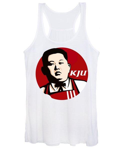Kim Jong Un Women's Tank Top