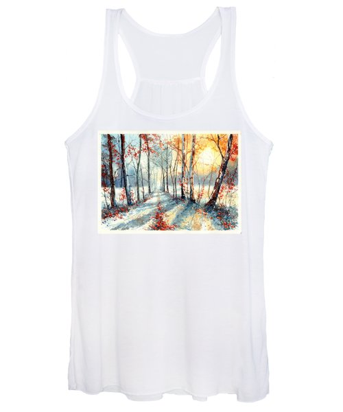 Last Leaves Women's Tank Top