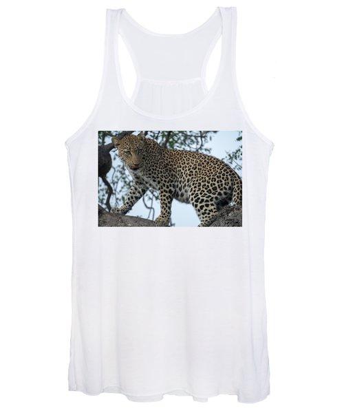 Leopard Anticipation Women's Tank Top