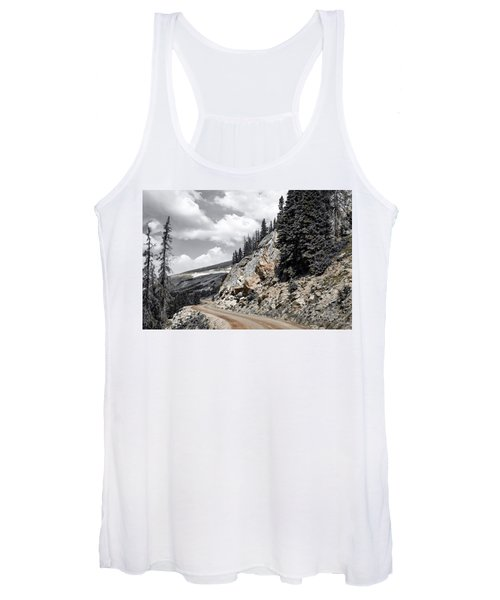 Living On The Edge Women's Tank Top