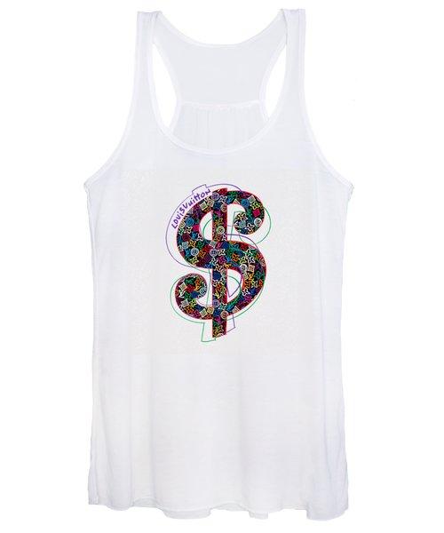 Louis Vuitton Dollar Sign-1 Women's Tank Top