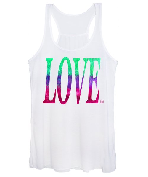 Women's Tank Top featuring the digital art Love by Corinne Carroll