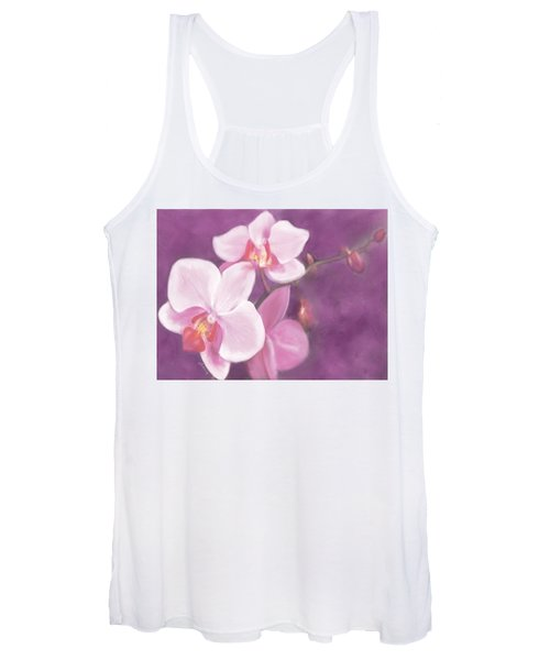 Luxurious Petals Women's Tank Top
