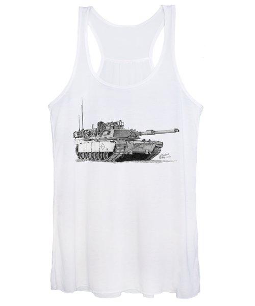M1a1 Battalion Master Gunner Tank Women's Tank Top