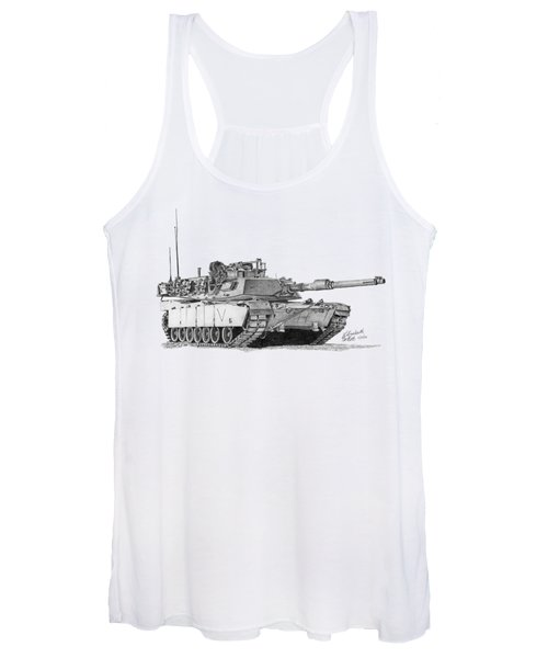 M1a1 C Company Commander Tank Women's Tank Top
