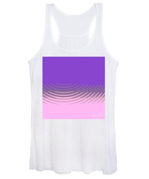 Manan Purple Pink Women's Tank Top