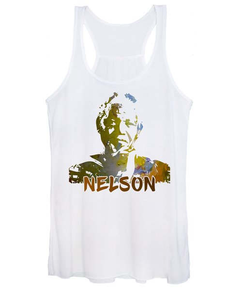 Mandela Cut Out Women's Tank Top