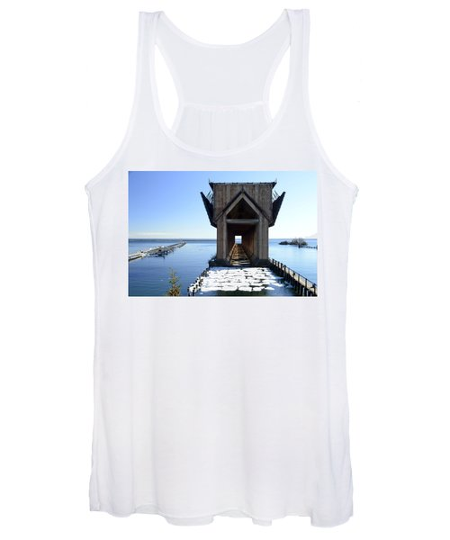 Marquette Ore Dock Cathedral Women's Tank Top
