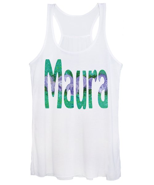 Women's Tank Top featuring the painting Maura by Corinne Carroll