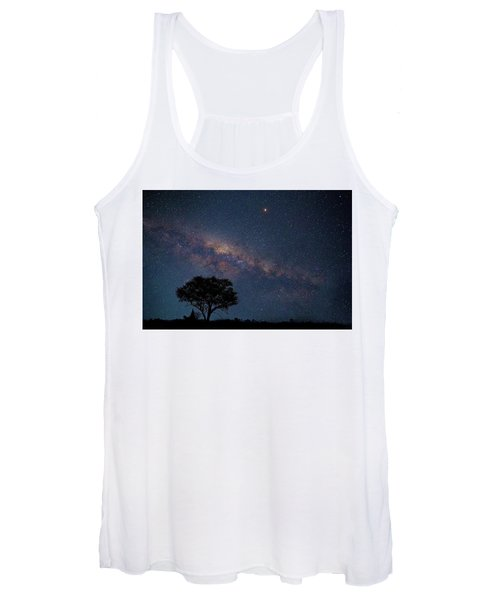 Milky Way Over Africa Women's Tank Top