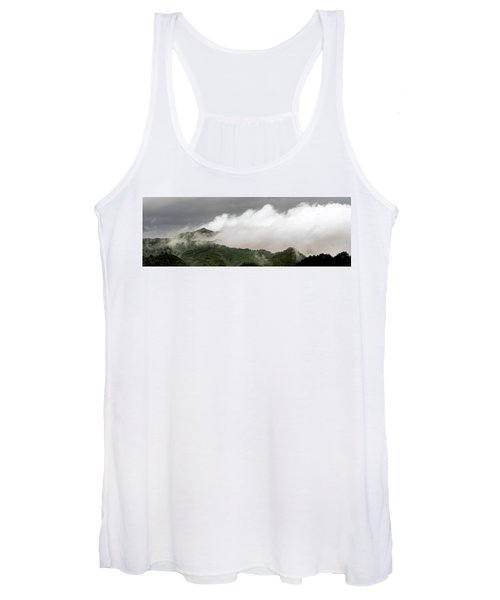 Misty Mountains II 3x1 Women's Tank Top