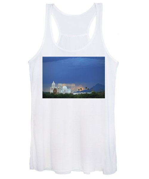 Monsoon Skies Over The Mission Women's Tank Top