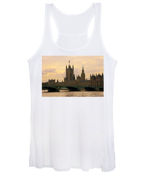 Morning At Westminster Women's Tank Top
