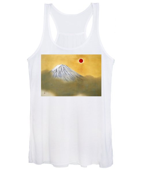 Mount Fuji - Kenkon Kagayaku - Top Quality Image Edition Women's Tank Top