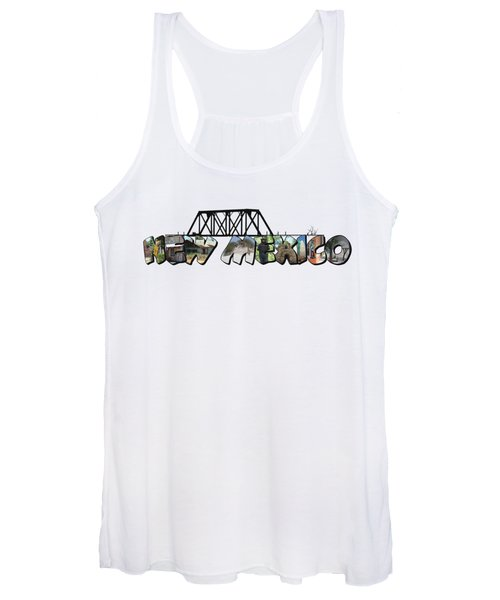 New Mexico Big Letter Women's Tank Top