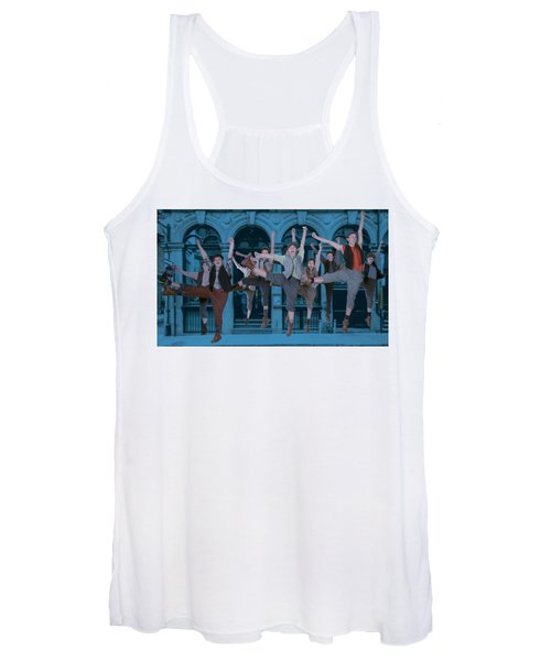 Newsies At The Artisan Center Theater Women's Tank Top