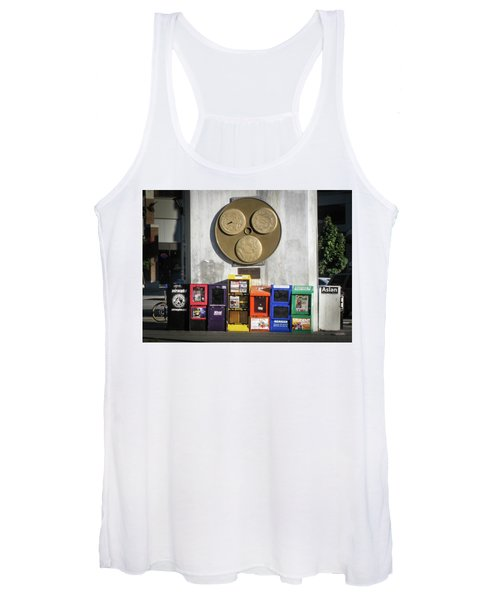 Newsstands At Gilmore Women's Tank Top
