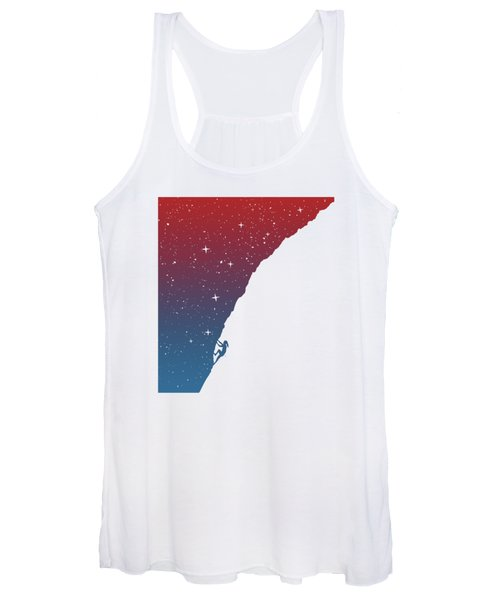 Night Climbing II Women's Tank Top