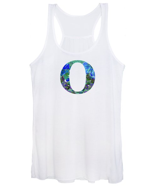 Women's Tank Top featuring the digital art O 2019 Collection by Corinne Carroll
