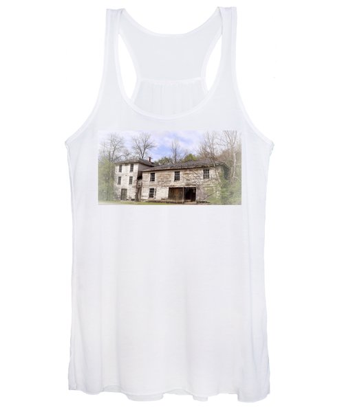 Old Abandoned House In Fluvanna County Virginia Women's Tank Top
