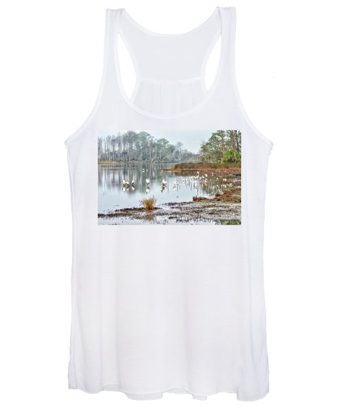 Old Rice Pond Women's Tank Top