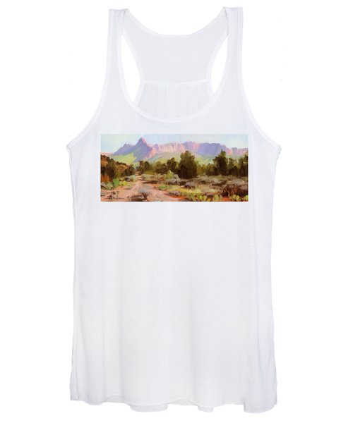 On The Chinle Trail Women's Tank Top