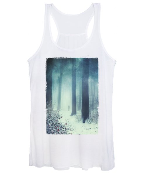Out In The Cold Women's Tank Top