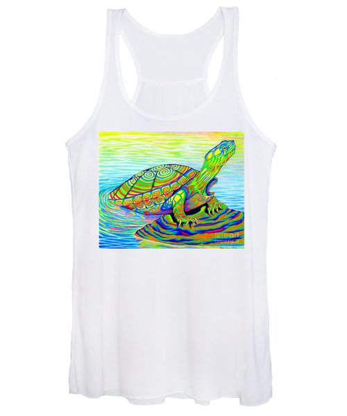Painted Turtle Women's Tank Top