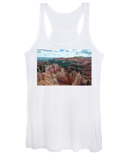 Panorama  From The Rim, Bryce Canyon  Women's Tank Top