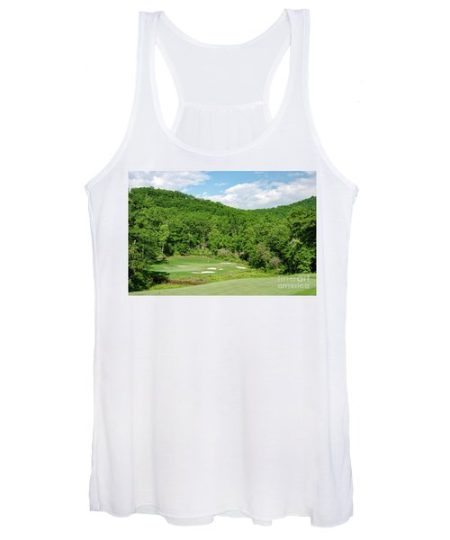 Par 3 Hole 16 Women's Tank Top