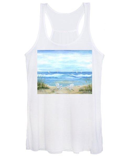 Peaceful Seascape Women's Tank Top