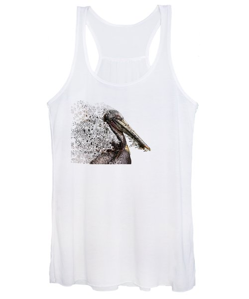 Pelican With Transparent Background Women's Tank Top