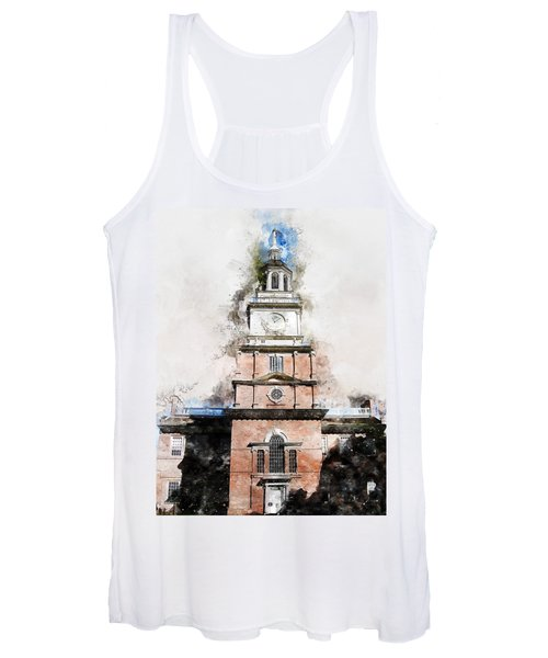 Philadelphia Independence Hall - 01 Women's Tank Top