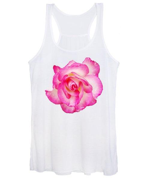 Pink Halo Rose Women's Tank Top