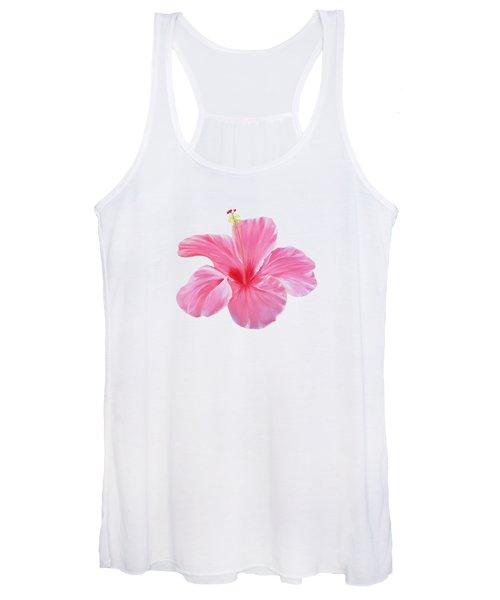 Pink Hibiscus Women's Tank Top