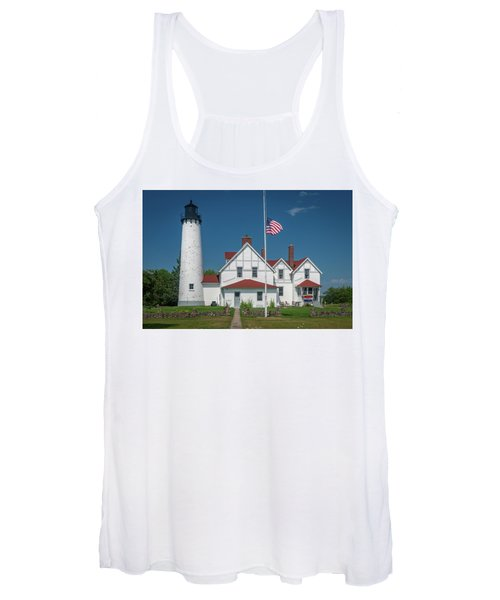Point Iroquois Lighthouse Women's Tank Top