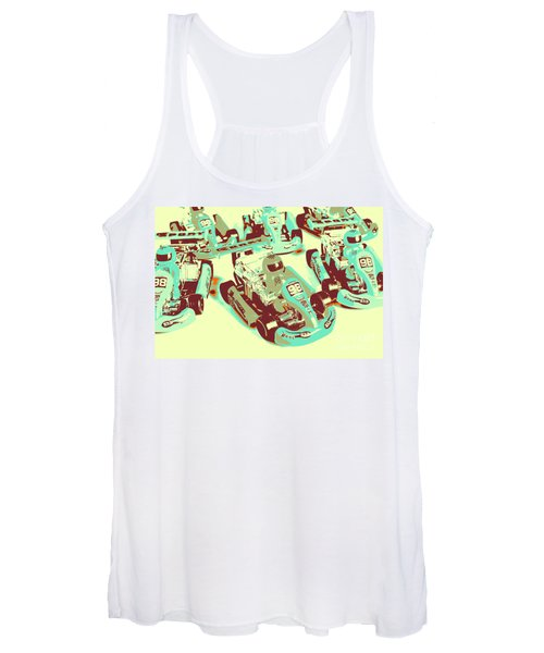 Poll Position Posterized Women's Tank Top