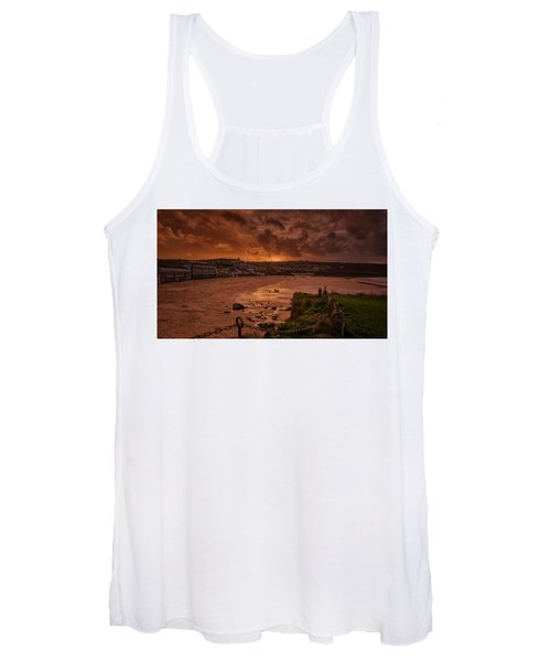 Porthmeor Sunset 2 Women's Tank Top