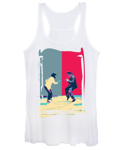 Pulp Fiction Revisited - Vincent Vega And Mia - The Dance Women's Tank Top