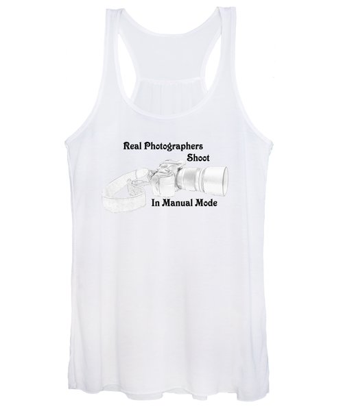Real Photographers Women's Tank Top