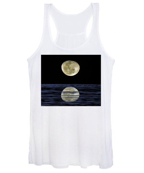Reflective Moon Women's Tank Top
