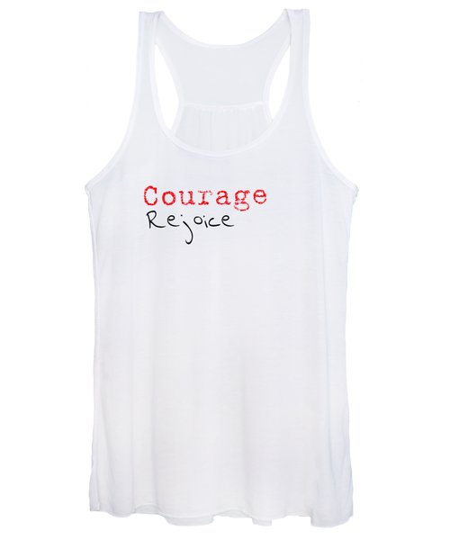 Rejoice And Take \courage/ Women's Tank Top