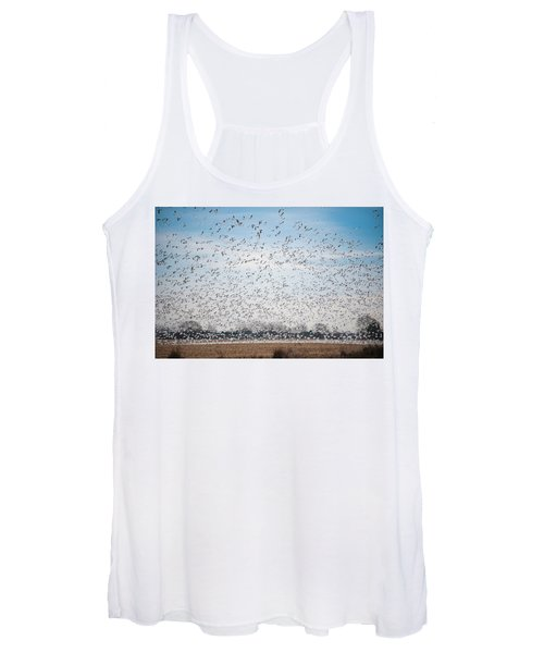 Resting On The Flyway Women's Tank Top