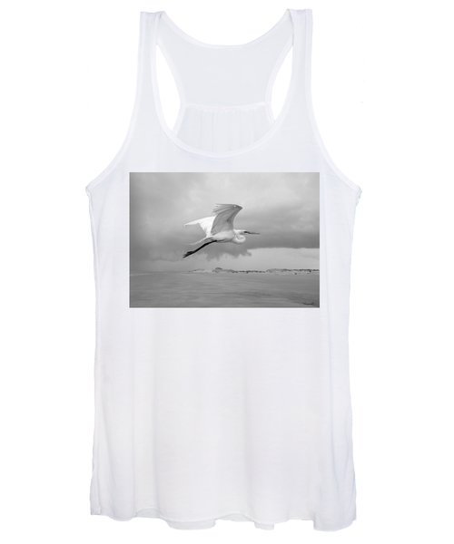 Retreat From Coming Storm Women's Tank Top