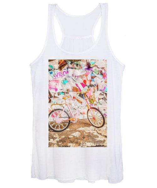 Retro City Cycle Women's Tank Top