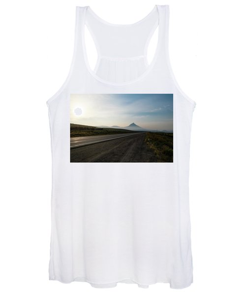Road Through The Rockies Women's Tank Top