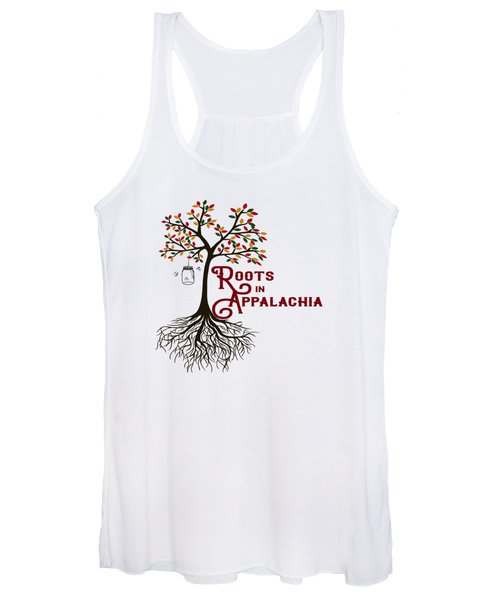 Roots In Appalachia Lightning Bugs Women's Tank Top