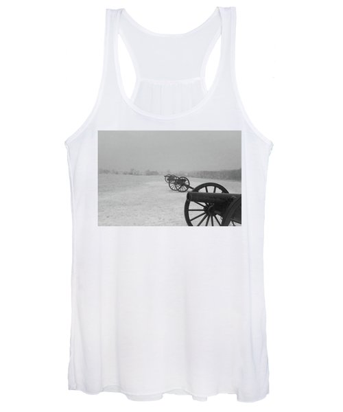 Row Of Cannon Women's Tank Top
